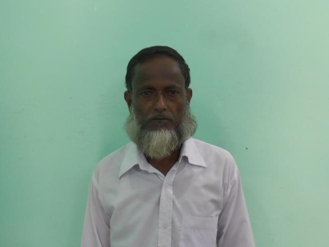 মোঃ আব্দুল্লাহ, আফিস সহায়ক কর্মচারি
