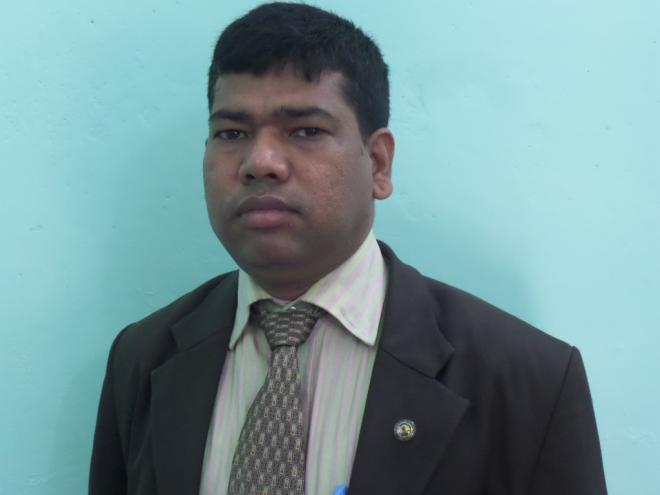 মোহাম্মদ হাশেম, ইন্সট্রাক্টর (মেশিনিষ্ট)