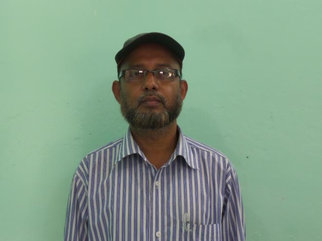 মোহাম্মদ নুরুল আমিন, ভাষা শিক্ষক